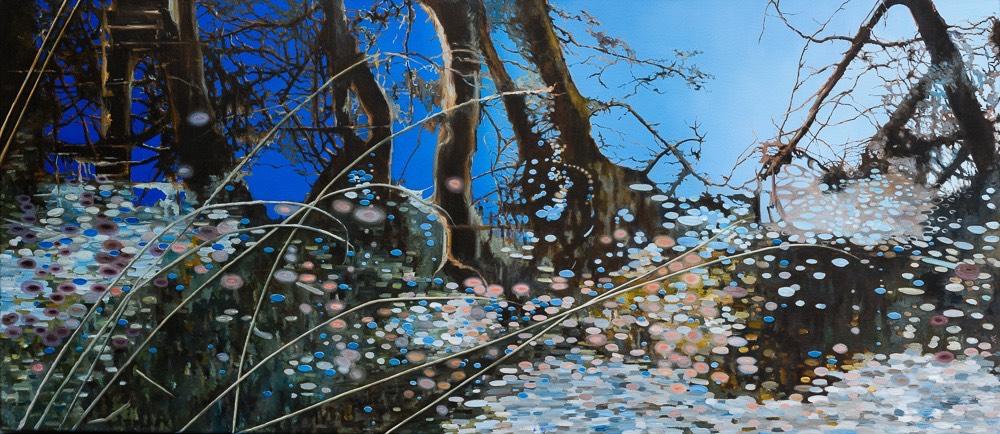 water vii - schilderij van Noëlle Koppers